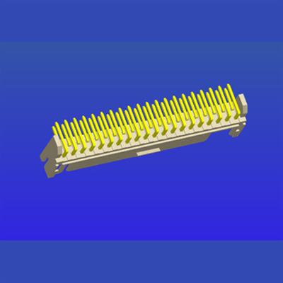 PH2.0mm間距雙排帶扣T3彎針