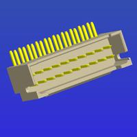 PH2.0mm間距雙排加厚帶扣彎針