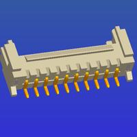 PH2.0mm間距單排帶扣SMT