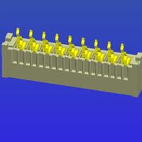 1.25mm間距B型直針雙面接FPC