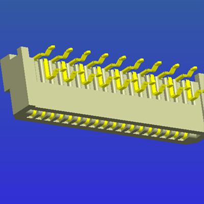 1.25mm間距B型彎針雙面接FPC