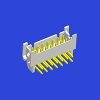 PHT 2.0mm PITCH 90°WAFER 側扣雙排彎針