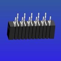 1.0mm間距A型雙面接直針無鎖式FPC