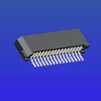 1.0mm間距C型雙面接臥貼無鎖式FPC